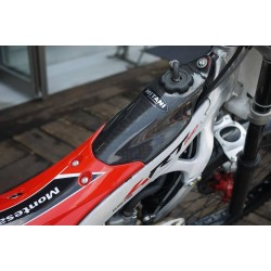 Mitani Protector carbon black fuel tank for Montesa 4RT starting in 2014.