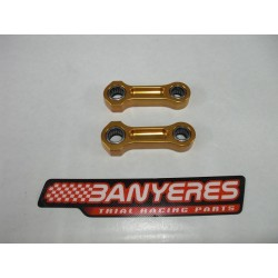 Mitani mechanized suspension rods with bearings for Sherco from 2016.