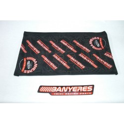 Head or neck scarf to team Jbanyeres Parts. also called Buff.