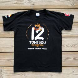Toni Bou Campeon 2018 outdoor t-shirt Children sizes 5-6 / 7-8 / 9 -11 / 12-14.