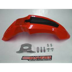 Front mudguard high red with special support kit for Montesa 4Ride (easy installation).