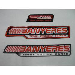 2 Brochures logo Jbanyeres Parts Trial Team.
