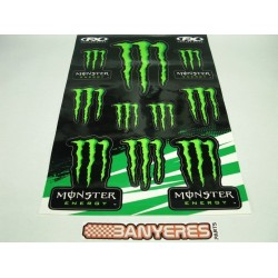 Kit adhesivos Monster