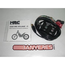 CD programable + cables para nueva ECU  de 2 Mapas individuales de HRC.