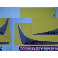 Adhesives rear fender side shields RTL 2T