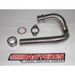 Titanium Front Exhaust for Honda RTL 250S 85-89 years