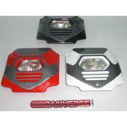 front light colored plastic replica montesa options red whrite black