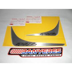 Adhesives rear fender side shields Montesa 315R HRC Model.