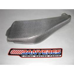 Side shield filter box texaliun material Mitani white Montesa 4RT 2005-2020
