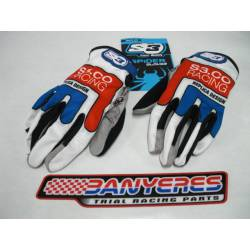 Gloves S3 new model 2020 model Spìder blue special trial Sizes: S - M - L - XL - XXL.