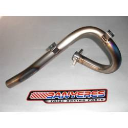 Front exhaust titanium 25´30 mm for Montesa Cota 4RT 2009 -2020.
