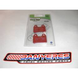 Red front brake pads Galfer for clamp Galfer ho Bractek ..