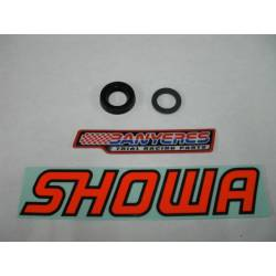 Retainer and original 14mm rear ring for Showa Trial shock absorber.