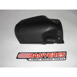Support fender flap behind unbreakable plastic Mitani for Montesa 4RT years 2009-2019.