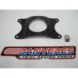Honda original carbon bracket for front fender Montesa Cota 315R Cota 4RT suspension Showa - Tech.
