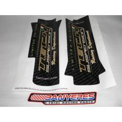 Kit official adhesives Tech manufactures suspension, Racing racing department.