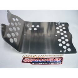 Carter protector for Montesa dimension 4RT 5 mm special Mitani, stronger special aluminum, every year.