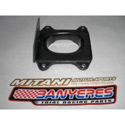 Top cover Mitani carbon filter box special for Montesa cota 4RT, all years and models.