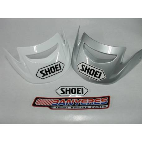 Visera original Shoei per TR3 color blanc / gris.