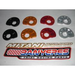 Mitani machined aluminumcentric universal chain tensioner various colors.Made in Japan.