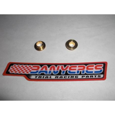 Bronze bushings for AJP and Bracteck levers less friction and less wear.