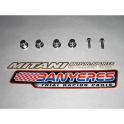 kit titanium screws Mitani cylinder head engine for Montesa cota 4RT every year.
