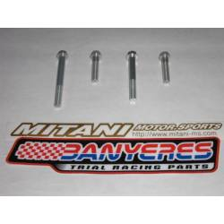 Mitani avional aluminum screws for engine oil and clutch drain 2 options 2005-2008 and 2009-2020.