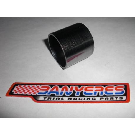 Special hard asbestos exhaust gasket measures length 27mm inner 28mm outer 31.5mm