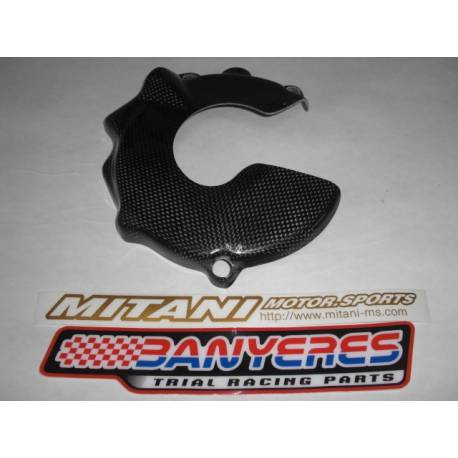 Mitani carbon induction cap large protector for Montesa cota 4RT years 2005-2021