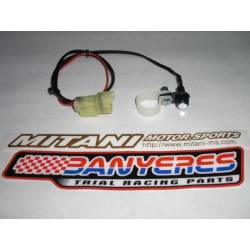 Small button Mitani no led for map change Montesa ECU dimension 4RT all years and models.
