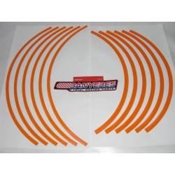 Original Repsol wheel stickers for Montesa cota 4RT every year and model.