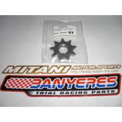 9T teeth Mitani output sprocket for Montesa Cota 315R and Honda TLR 200 - 250R.