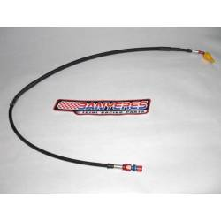 Carbon clutch hose for Montesa 4RT for AJP - Bracteck clutch pump.
