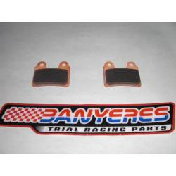 Special brake pads sintered for AJP front caliper Brake very strong on / off touch.