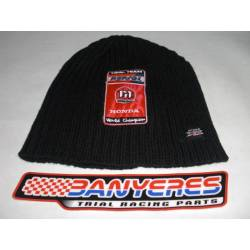 Team Montesa black winter hat - Repsol.