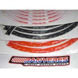 Adhesives Specialty Tires Top Trial Team option: 3 models White - Red - black