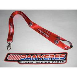 Identification pendant tape with Jbanyeres Parts logo.