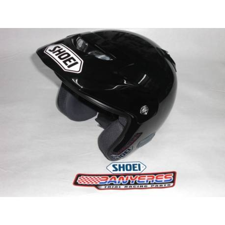Casco Shoei TR3 color negro original todas las tallas XS-S-M-L-XL.