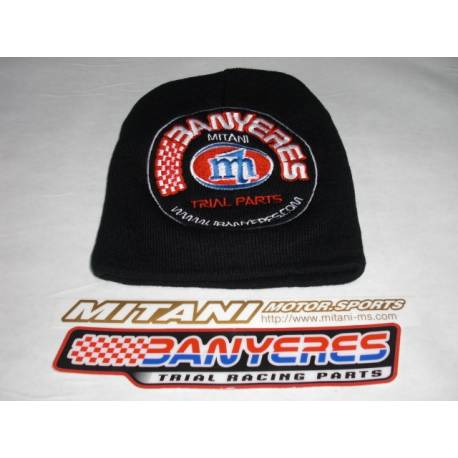 Parts Jbanyeres team winter cap, black with embroidered logo Jbanyeres - Mitani.