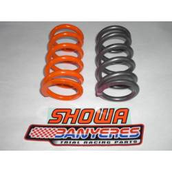 Rear suspension spring for Showa taraje 2 options 75 / 95Kg ho 95 / 115Kg
