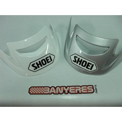Visera Shoei color blanc/gris