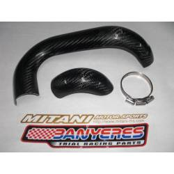 Carbon Shield Front Exhaust Gas Gas Pro (08 -10)