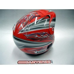 Team Replica Helmet Mitani Vermell - Gray