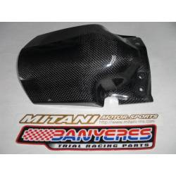 Mitani carbon support for filter box and rear fender for Montesa 4RT years 2009-2019.