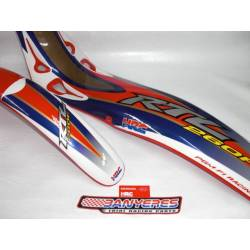 Kit Parafangs vermells originals Honda - HRC model 2008 per Montesa Cota 4RT anys 2005-2009.
