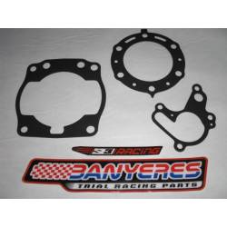 Kit of special gaskets for cylinder - cylinder head and water pump for Montesa Cota 315R every year.