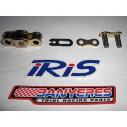 Mesh and middle and hook for IRIS Racing RXL 520 chain.