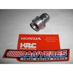 Cylinder head water nozzle and original Honda water pump for Montesa Cota 4RT and 4Ride all years.