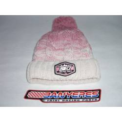 S3parts winter hat cream color - Pink
