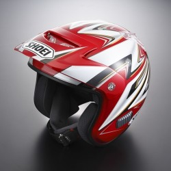 Mitani TR3 Replica Casque Shoei  rouge.